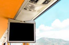 Экран ТВ информации Стоковая Фотография RF