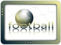 экран футбола Стоковые Изображения