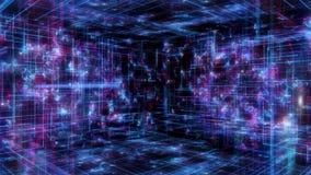 Экран цифров данным по компьютера интерфейса технологии бесплатная иллюстрация