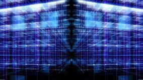 Экран цифров данным по конспекта интерфейса технологии иллюстрация штока