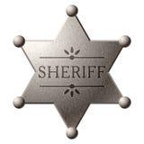 экран шерифа s Стоковое Изображение