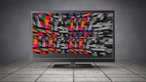 Экран LCD со статическим акции видеоматериалы