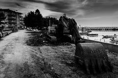 Экскаватор гусеницы Стоковое Фото