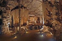Экскурсия в пещерах Конго около Oudtshoorn стоковые фото