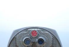 эксплуатируемая монетка биноклей Стоковая Фотография