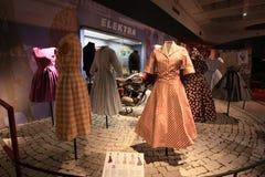 Экспозиция винтажных платьев Стоковая Фотография RF
