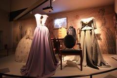 Экспозиция винтажных платьев Стоковые Фотографии RF