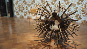 Экспозиция Ai Weiwei стоковое изображение
