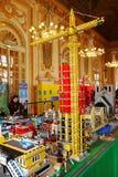 Экспозиция Lego Стоковые Фотографии RF
