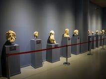 Экспонаты музея Ephesus стоковые изображения rf