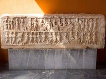 Экспонаты музея Ephesus стоковое фото rf