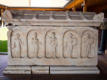 Экспонаты музея Ephesus стоковые изображения
