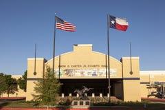 Экспонаты Hall Картера Amon в Fort Worth стоковое фото rf