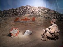 Экспонат на воинских музеях, Калгари Стоковое Изображение RF