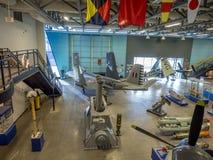 Экспонат на воинских музеях, Калгари Стоковая Фотография RF
