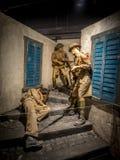 Экспонат на воинских музеях, Калгари Стоковая Фотография