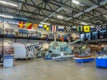 Экспонат на воинских музеях, Калгари Стоковое Изображение