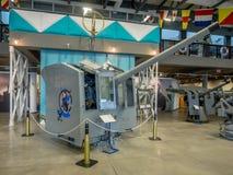 Экспонат на воинских музеях, Калгари Стоковые Изображения RF
