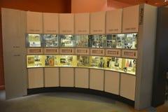 Экспонат на музее миграции в Аделаиде Стоковые Изображения
