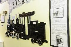 Экспонат парового двигателя Стоковое Изображение RF
