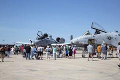 Экспо воздушной мощи Стоковое Фото