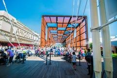 Экспо 2015 2 милана Стоковые Фотографии RF