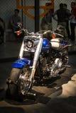 Экспо мотоциклов в шоу Harley Davidson Милана EICMA стоковая фотография