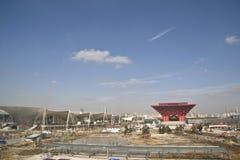 экспо 2010 shanghai стоковое фото