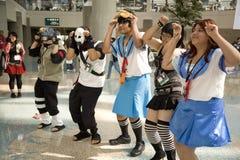 экспо anime 2008 8511 Стоковое Изображение RF