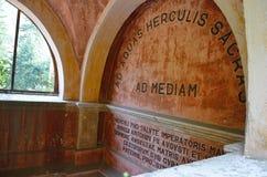 Экстерьер австрийских имперских ванн - Herculane Стоковое Изображение RF