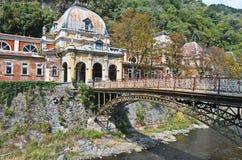 Экстерьер австрийских имперских ванн - Herculane Стоковые Изображения RF