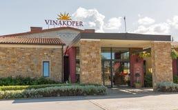 Экстерьер винодельни Vinakoper в Koper, Словении Стоковая Фотография