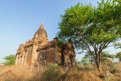 Экстерьер виска в Bagan Стоковая Фотография