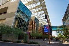 Экстерьер выставочного центра в Фениксе, AZ Стоковые Фото