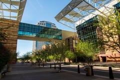Экстерьер выставочного центра в Фениксе, AZ Стоковое Изображение