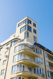 Экстерьер жилого дома Стоковая Фотография