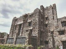 Экстерьер замка Gillette стоковое изображение