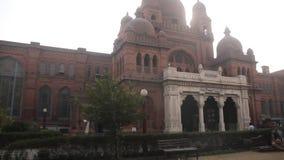 Экстерьер здания музея Лахора сток-видео