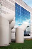 экстерьер здания промышленный Стоковые Фотографии RF
