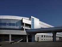 экстерьер здания промышленный Стоковое Изображение
