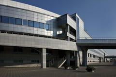 экстерьер здания промышленный Стоковая Фотография