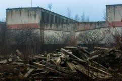 экстерьер здания промышленный Стоковое фото RF