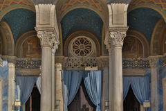 Экстерьер здания Афин Стоковое Изображение RF