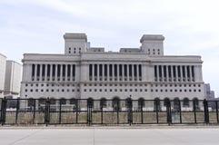 Экстерьер здания суда Milwaukee County Стоковые Изображения RF