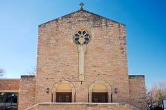 Экстерьер и вход церков в западное St Paul Стоковое фото RF