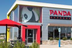 Экстерьер и логотип панды срочные Стоковые Фото
