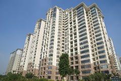Экстерьер квартир стоковое изображение rf