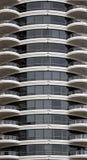 экстерьер кондо здания самомоднейший Стоковое Фото