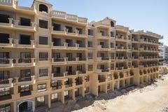 Экстерьер конструкции жилого квартала в тропическом курорте Стоковое Фото