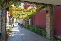 Экстерьер магазина винодельни Vinakoper в Koper, Словении Стоковое Изображение RF